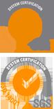 Logotipos de ISO 9001 e ISO 14001