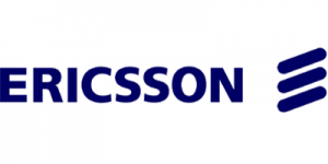 Logotipo de Ericsson.Cliente de Sortis